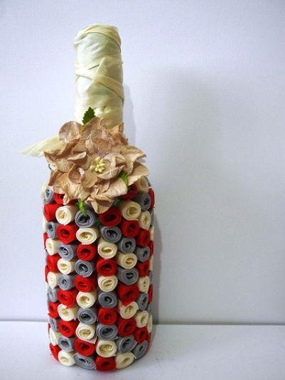 W superbly Dekorowanie butelek własnymi rękami   jocelynkelley.com JU86