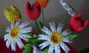 Cum sa faci flori origami din hartie