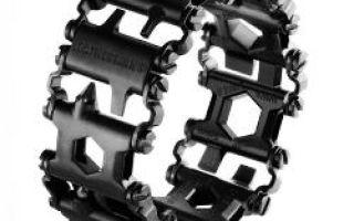 Náramek – multitool, v němž jsou skryté 25 nástrojů
