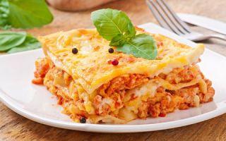 Wie hausgemachte Lasagne zu kochen
