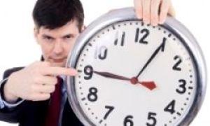Warum kommen manche Leute immer zu spät?