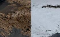 Wie sieht die Antarktis ohne Eis aus?