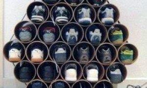 15 ideias interessantes para guardar sapatos