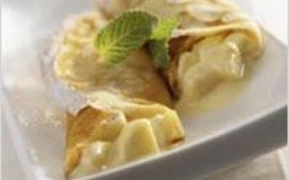 Clatite cu banane si iaurt