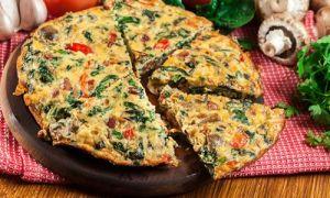Omeletu ve pánvi