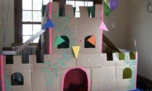 Cum sa faci o casa de carton pentru copii