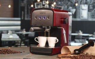 Kaffeemaschine Polaris PCM 1516E Adore Crema für Kenner starken Kaffees