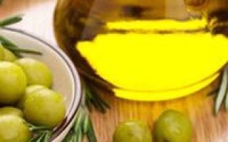 Olivenöl beim Kochen