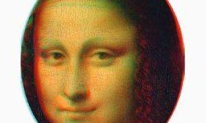 """""""Mona Lisa"""" er det første noensinne 3D-bildet"""