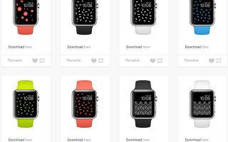 Cele mai bune wallpapere pentru Apple Watch sunt colectate într-un singur loc