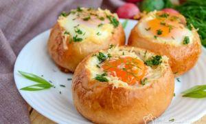 Ovos com queijo