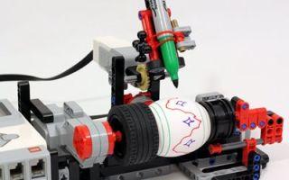 Robot for farging påskeegg