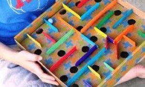 Najbardziej pomysłowe zabawki dla dzieci wykonane przez rodziców