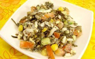 Salada de couve mar