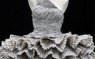 De mest uvanlige kjoler i verden, tar vare på miljøet