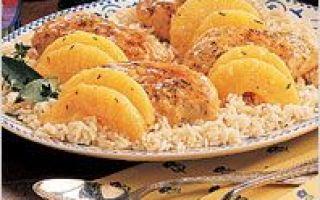 Kuřecí filet v kořeněné omáčce s ananasem