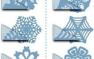 Häufig Schneeflocken aus Papier schneiden (Vorlagen) | jocelynkelley.com DH21