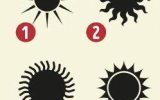 Velmi slunečno TEST: Zvolte SUN a zjistěte skryté vlastnosti vaší postavy