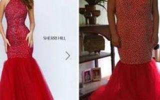 Kjoler til oppgradering, kjøpt via internett: venter og virkelighet