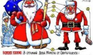 Moș Crăciun vs. Moș Crăciun