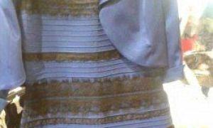 Jakou barvu jsou tyto šaty: bílo-zlaté nebo modro-černé?