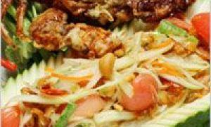 Thajské jídlo