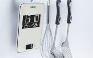Kuchyňské váhy. Přehled