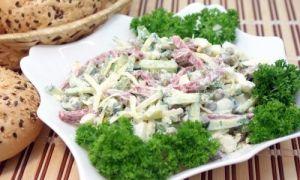 Saláty jsou jednoduché a chutné
