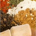 Especiarias: especiarias tradicionais ocidentais
